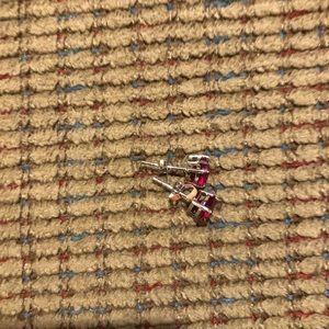 Jewelry - Set of 2 heart shaped stud earrings